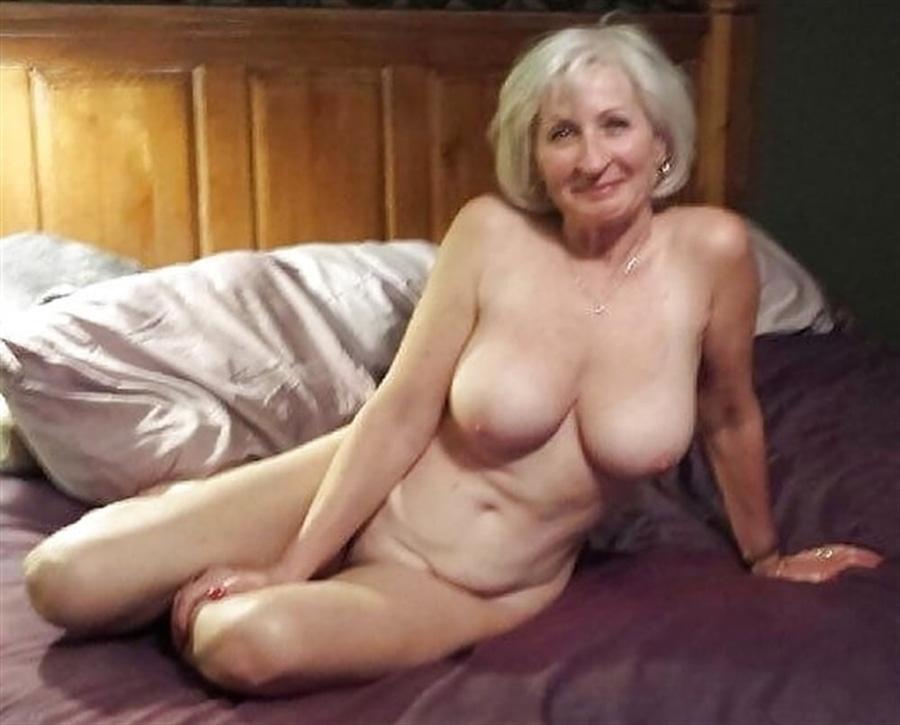 Mamie grisonnante